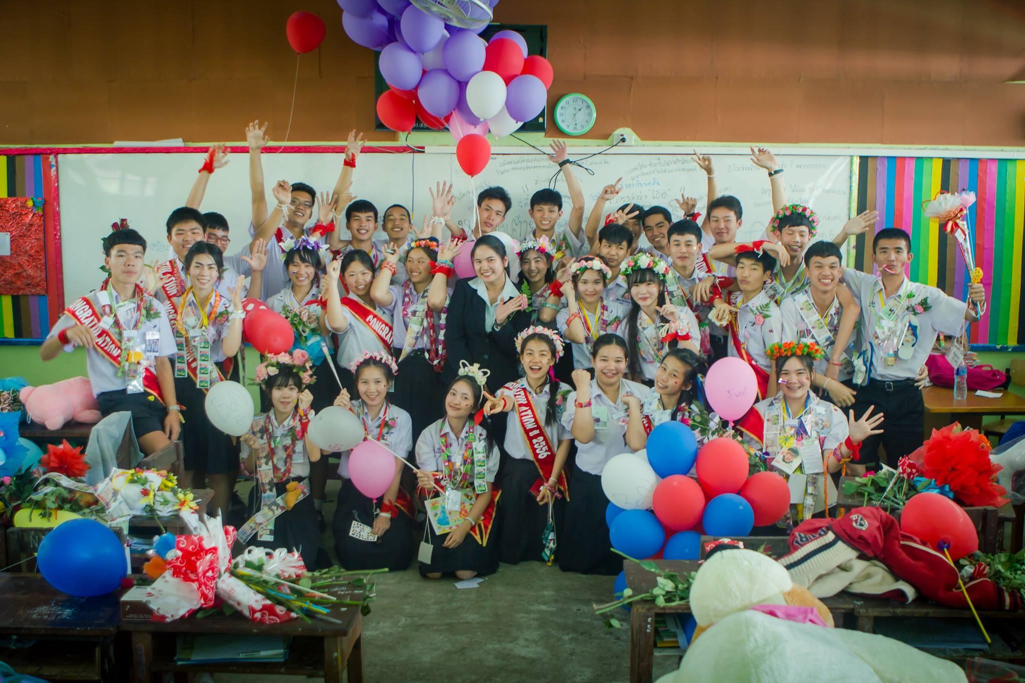 งานปัจฉิมนิเทศ ม.3 และ ม.6 โรงเรียนแม่สายประสิทธิ์ศาสตร์ ปีการศึกษา 2556