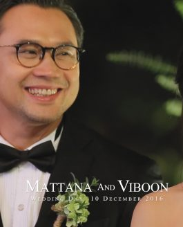 Mattana And Viboon : Wedding Day 10 November  2016