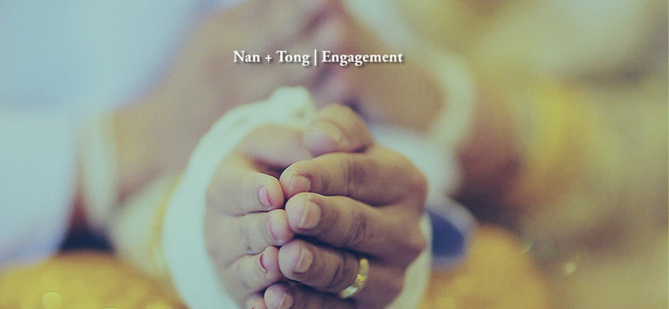 Highlight : Nan + Tong Engagement 01.03.2014