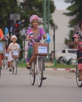 """กิจกรรม Bike for Mom """"ปั่นเพื่อแม่"""" Chiangrai 2015"""